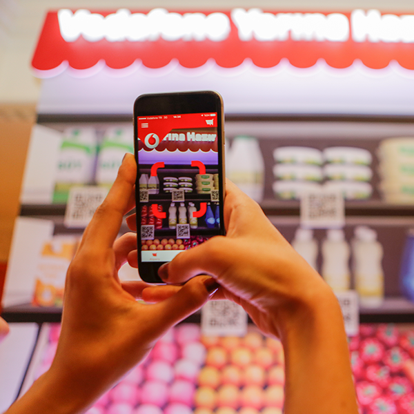Vodafone | Virtual Market Introduced
