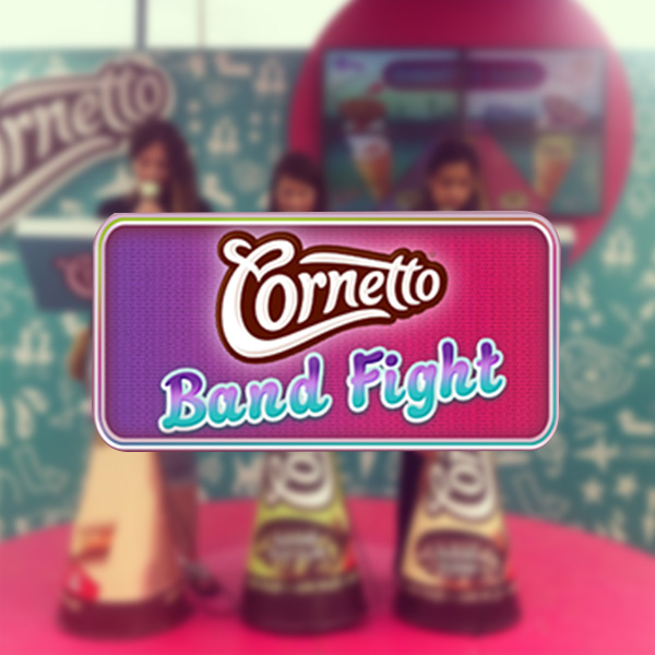 Cornetto | Band Fight | Phygital Activation